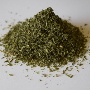 Sieved flower material without seeds and stems 5% - Cannabis - Biomass - Lithuania